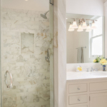 residential remodel white marble bath SF CA
