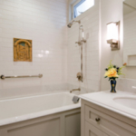 residential remodel white bath SF CA